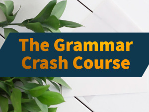 Course Banner Image (The Grammar Crash Course)